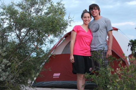 Camping in Seminole Canyon State Park
