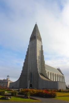 Hallgrímskirkja, the biggest church in Iceland